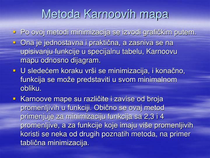 Metoda Karnoovih mapa