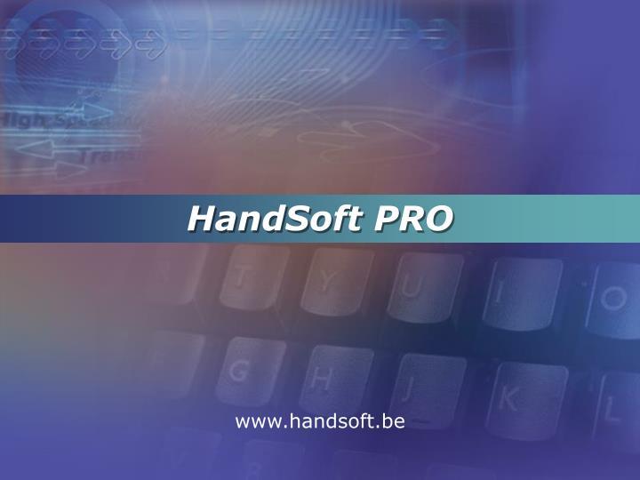 HandSoft PRO