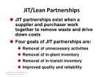jit lean partnerships