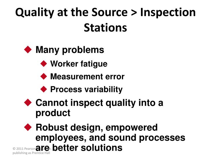 Quality at the Source > Inspection Stations