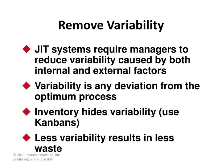 Remove Variability