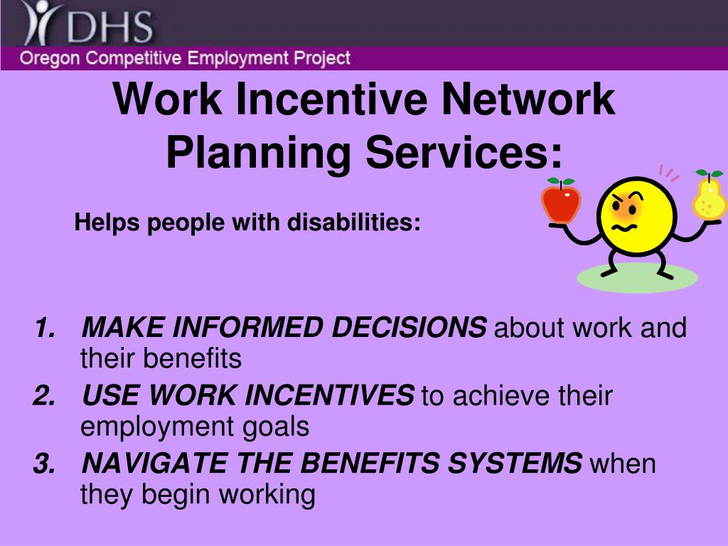 Work Incentive Network Planning Services: