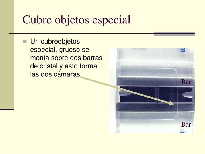 Cubre objetos especial