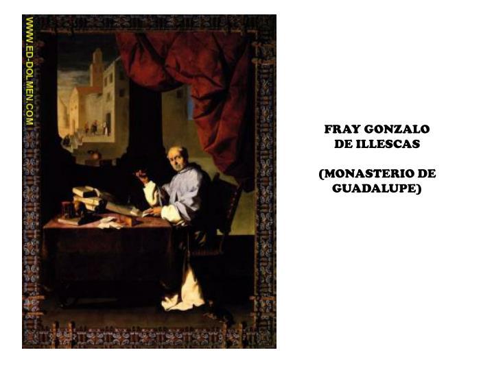 FRAY GONZALO