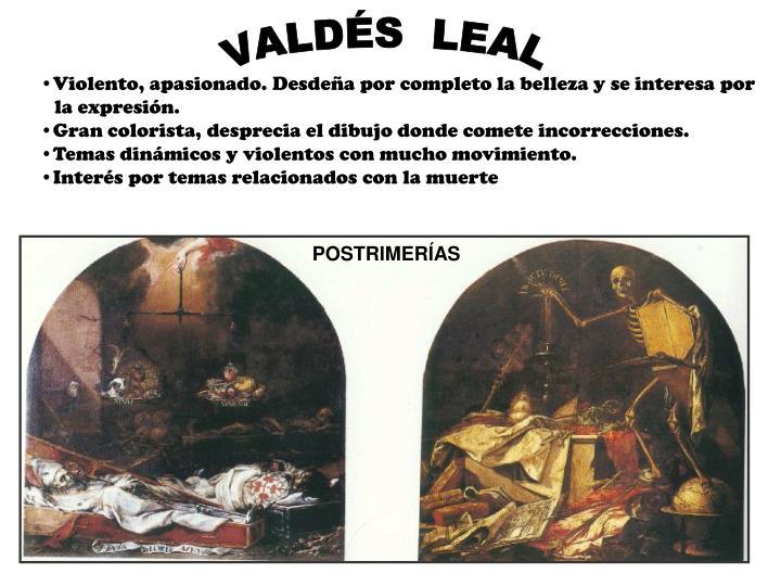 VALDÉS  LEAL