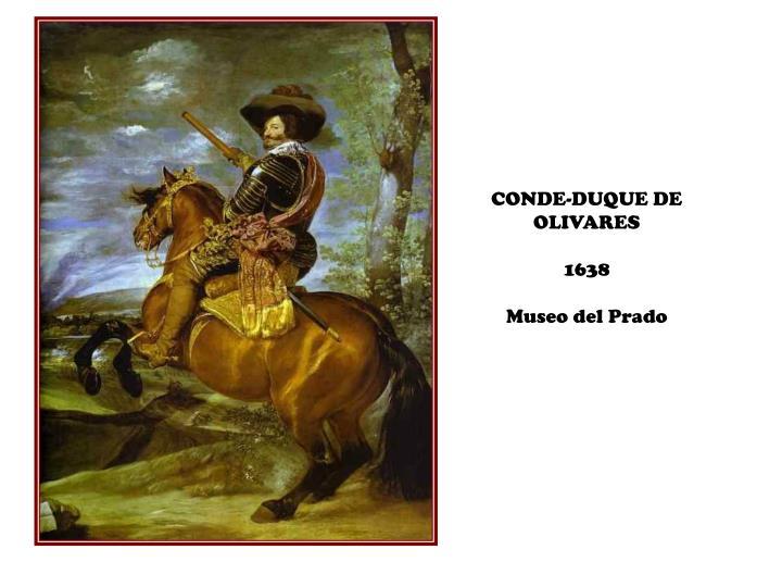 CONDE-DUQUE DE