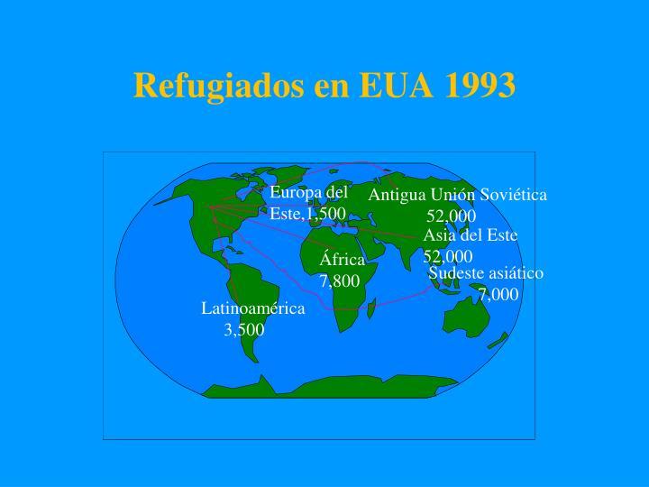 Refugiados en EUA 1993