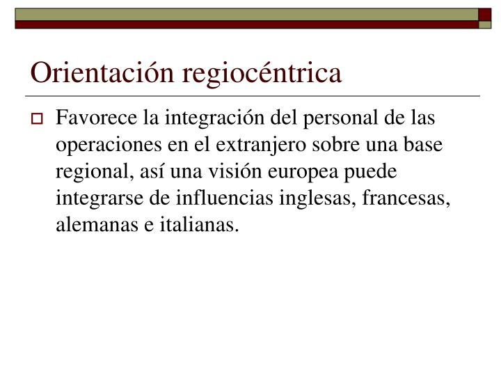 Orientación regiocéntrica