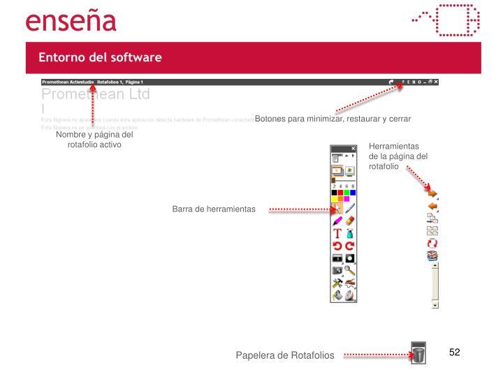 Entorno del software