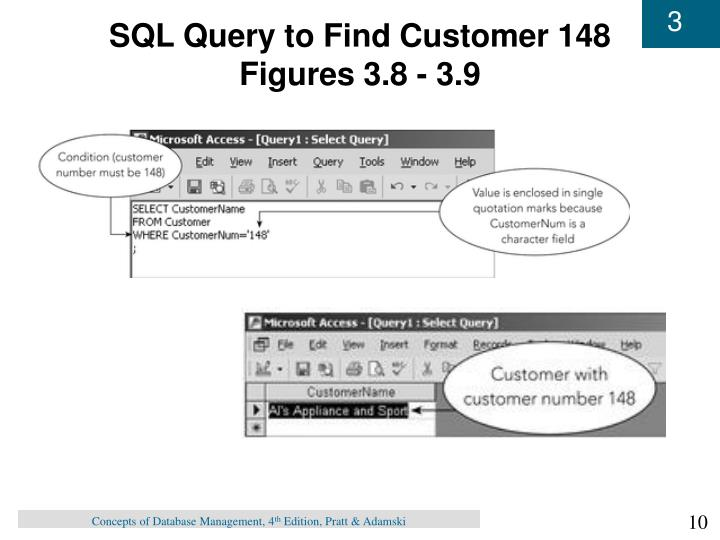 SQL Query to Find Customer 148