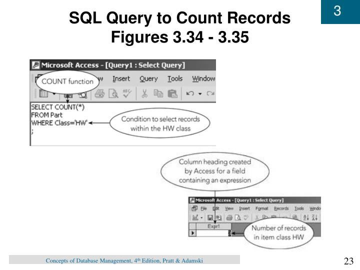 SQL Query to Count Records