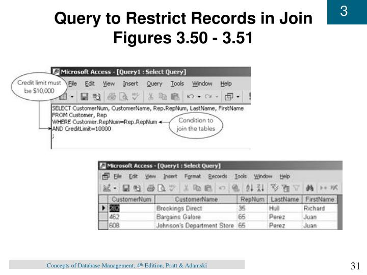 Query to Restrict Records in Join