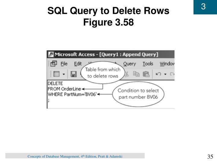 SQL Query to Delete Rows