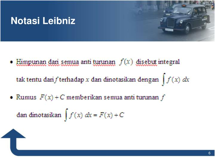 Notasi Leibniz