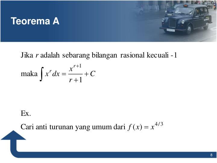 Teorema A
