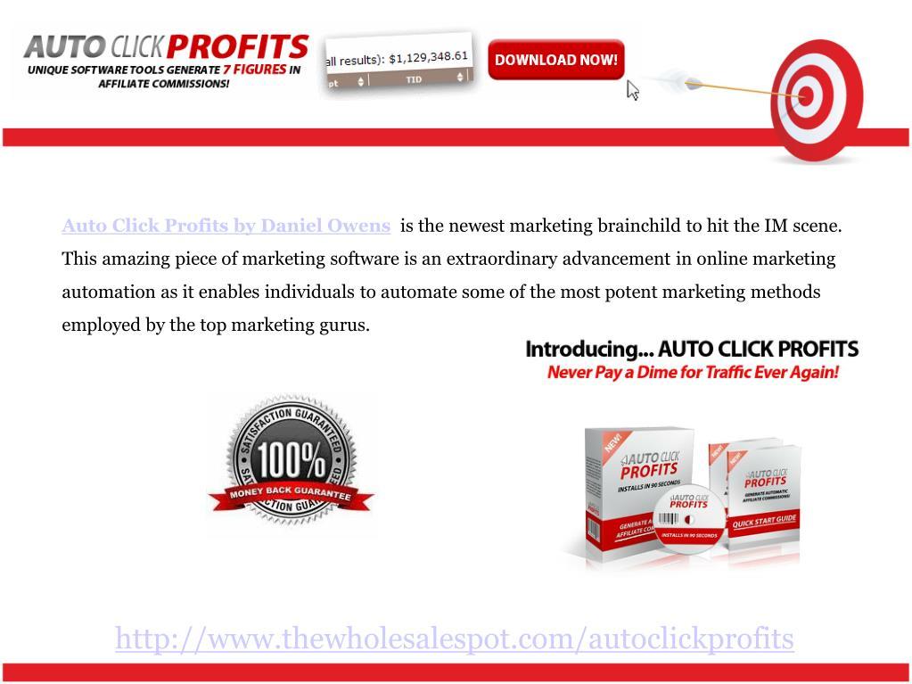 Auto Click Profits by Daniel Owens