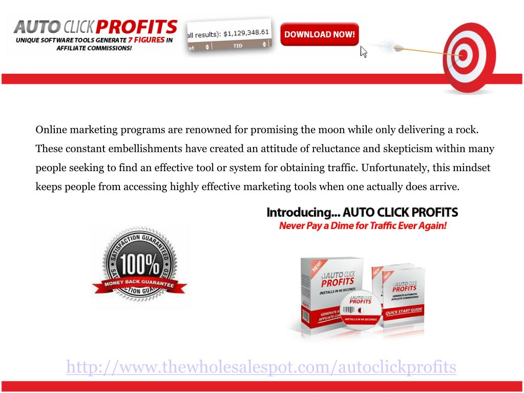 Online marketing programs are renowned for promising the moon while only delivering a rock. These constant embellishments have created an attitude of reluctance and skepticism within many people seeking to find an effective tool or system for obtaining traffic. Unfortunately, this mindset keeps people from accessing highly effective marketing tools when one actually does arrive.