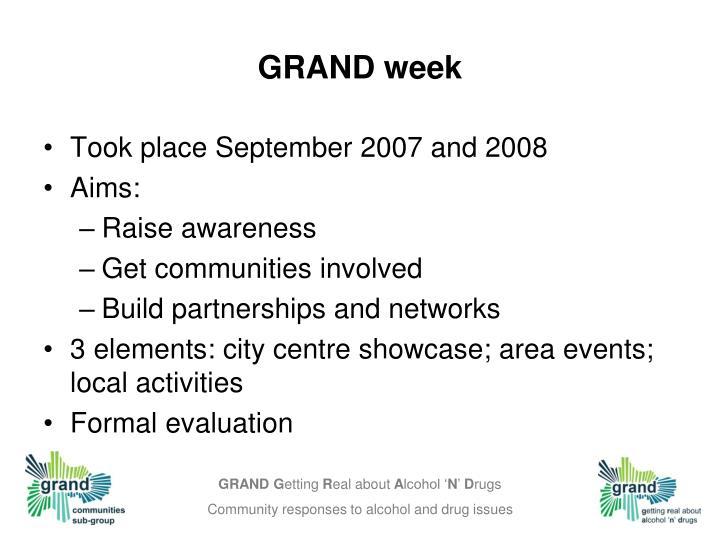 GRAND week