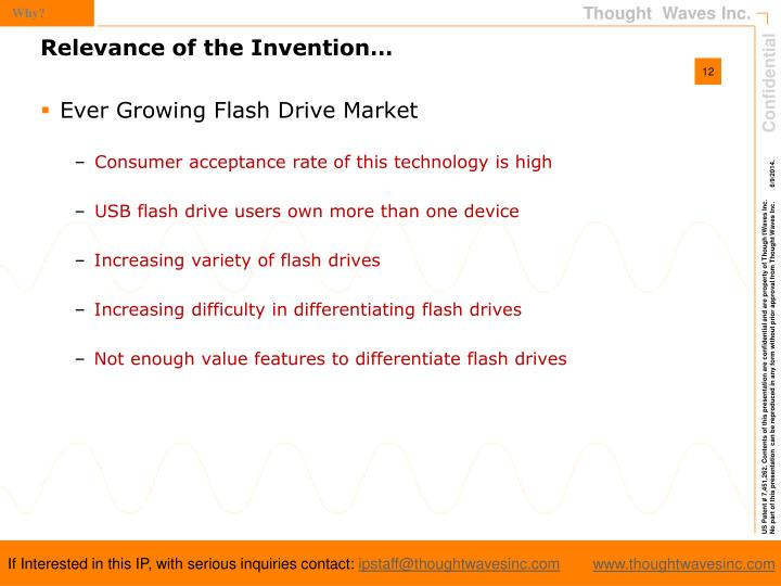 Ever Growing Flash Drive Market