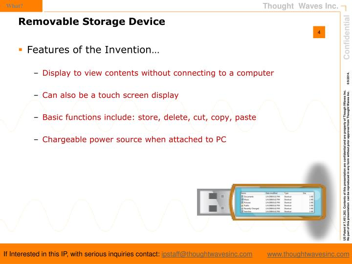 Features of the Invention…