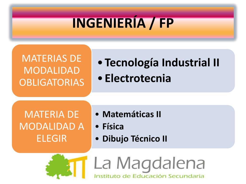 INGENIERÍA / FP