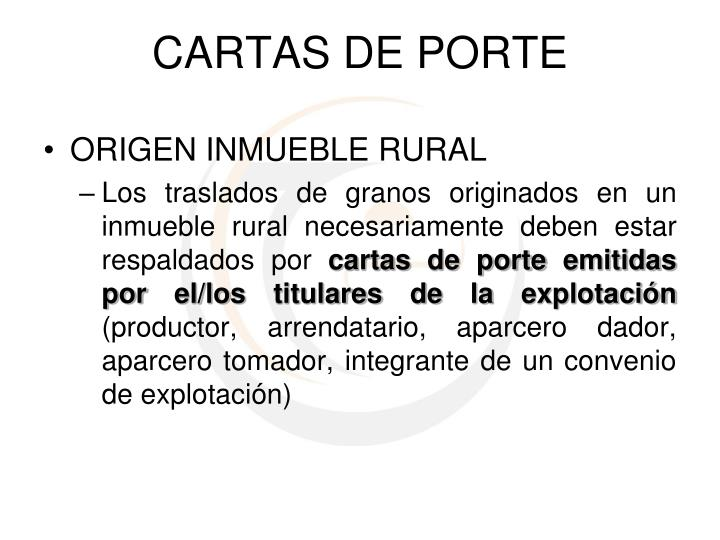 ORIGEN INMUEBLE RURAL