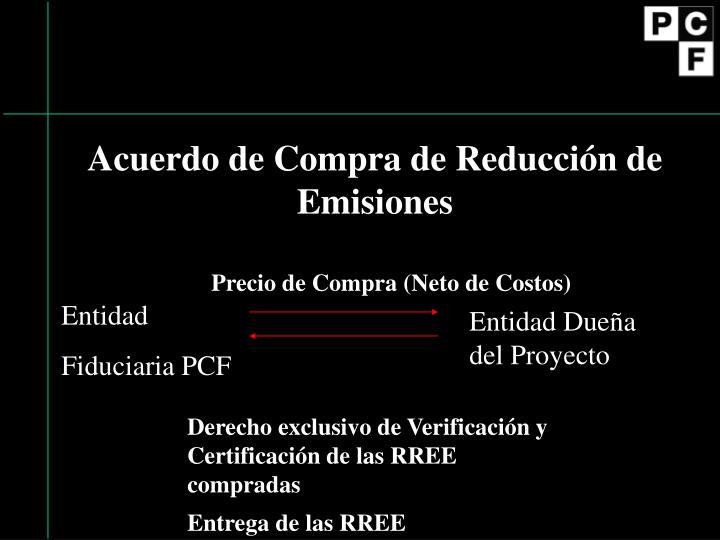 Acuerdo de Compra de Reducción de Emisiones