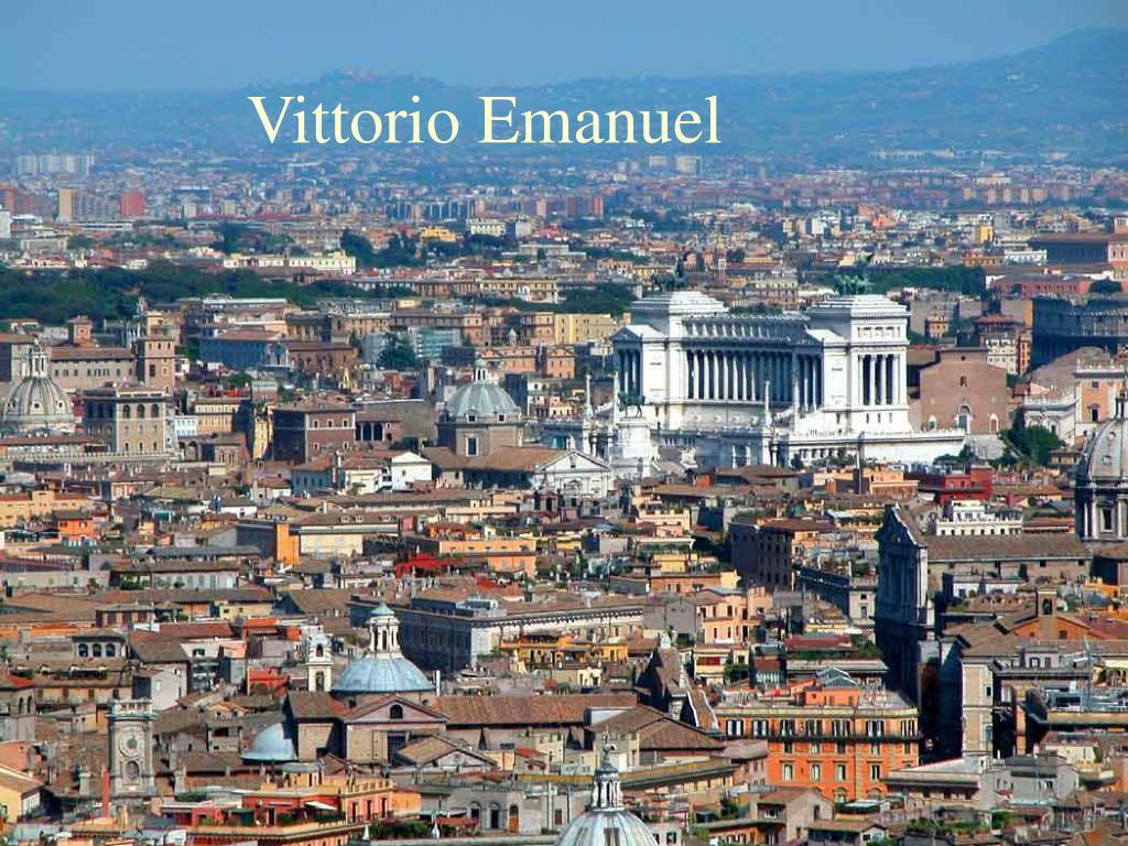 Vittorio Emanuel