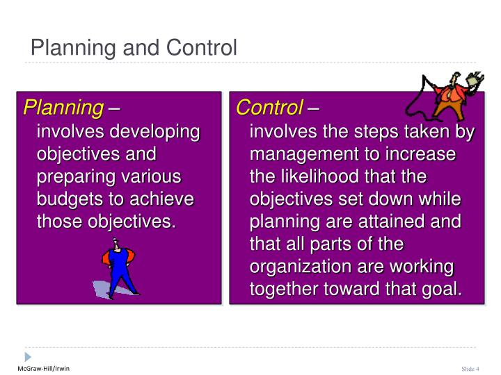 Planning and Control
