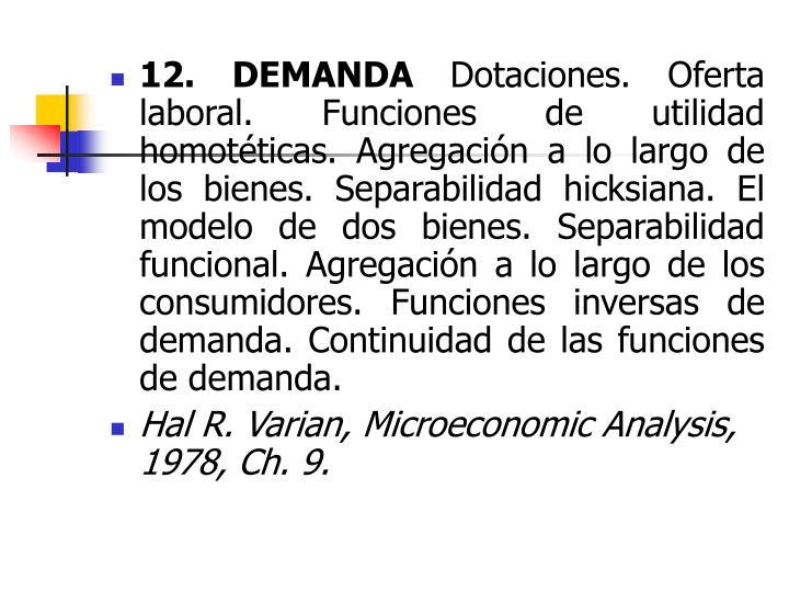 microeconomic answer
