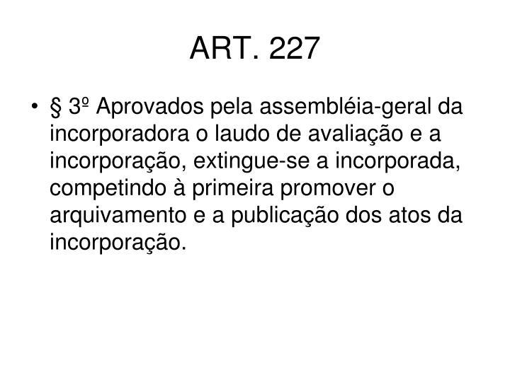 ART. 227