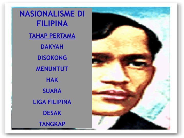 NASIONALISME DI FILIPINA