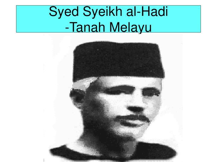 Syed Syeikh al-Hadi