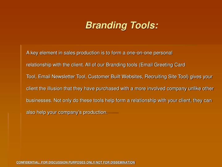 Branding Tools: