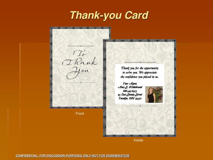 Thank-you Card