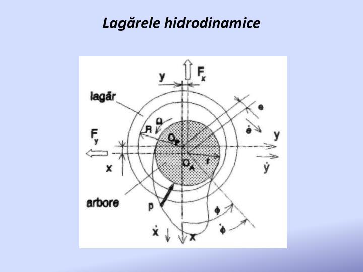 Lagărele hidrodinamice