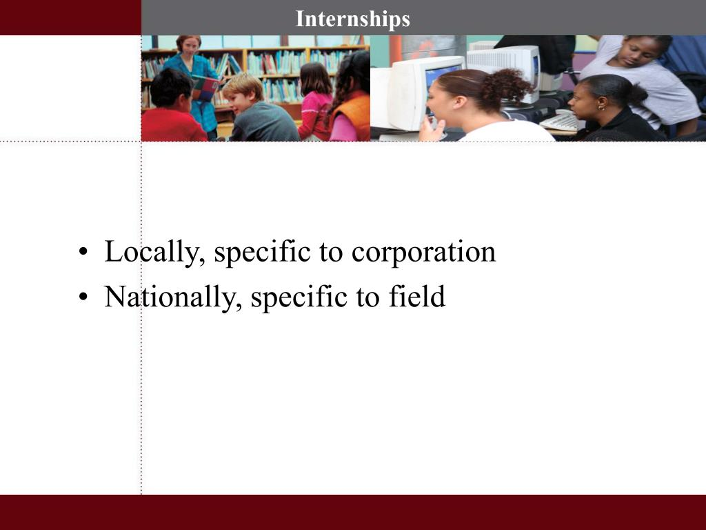 Locally, specific to corporation