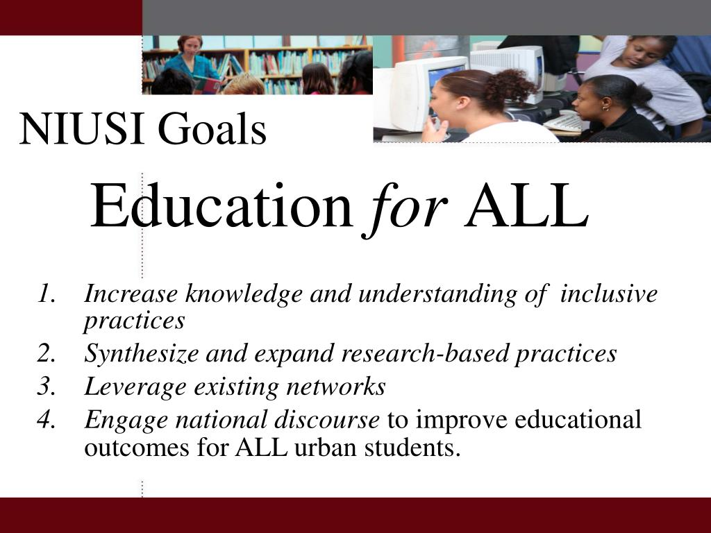 Increase knowledge and understanding of  inclusive practices