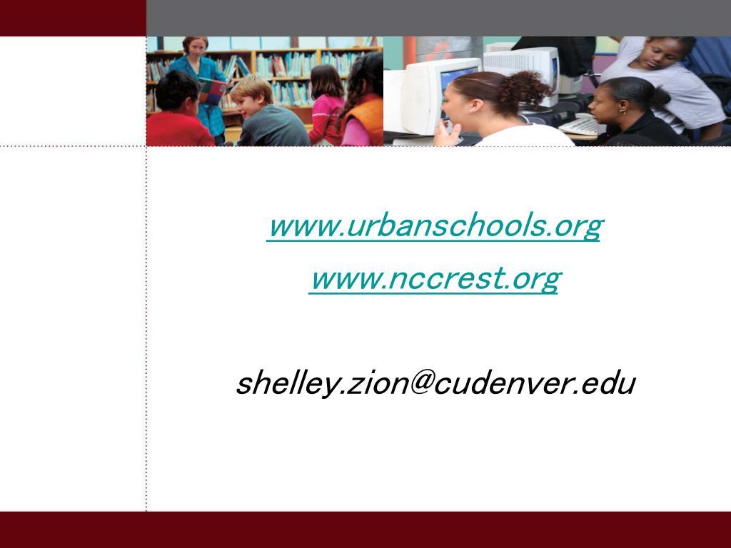 www.urbanschools.org