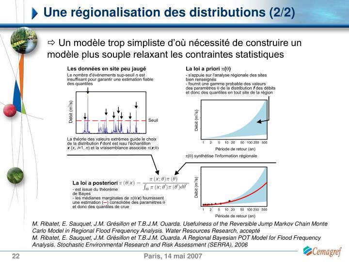 Une régionalisation des distributions (2/2)
