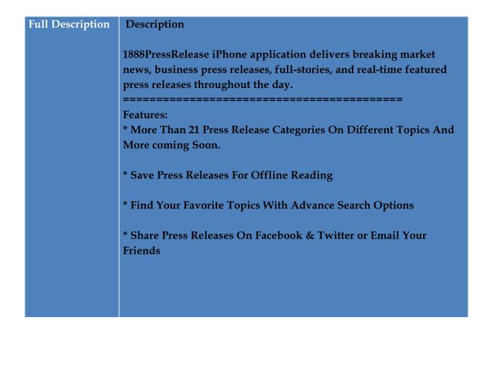 1888pressrelease distribute your news press releases to