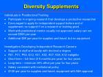 diversity supplements27