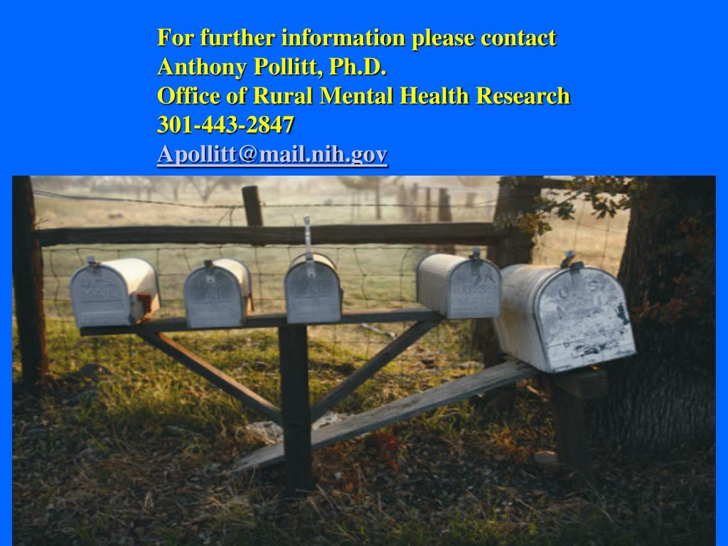 For further information please contact