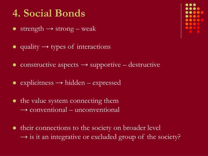 4. Social Bonds