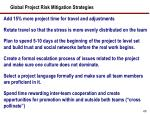 global project risk mitigation strategies1