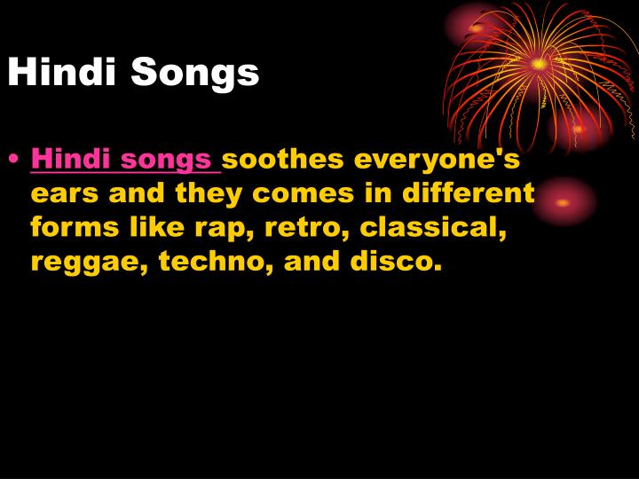 Hindi songs l.jpg
