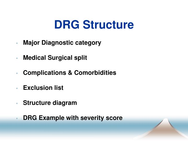 DRG Structure