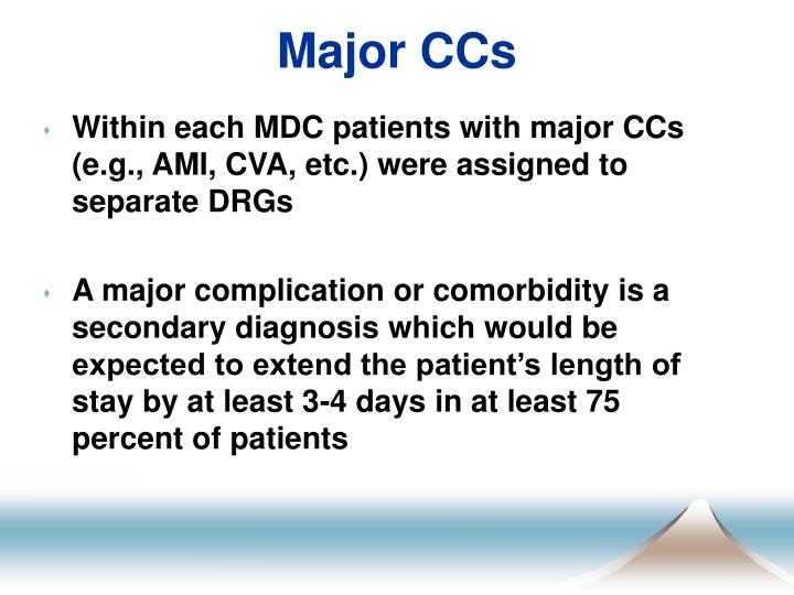 Major CCs
