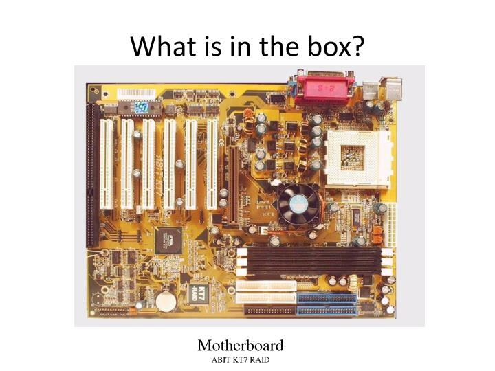 What is in the box?
