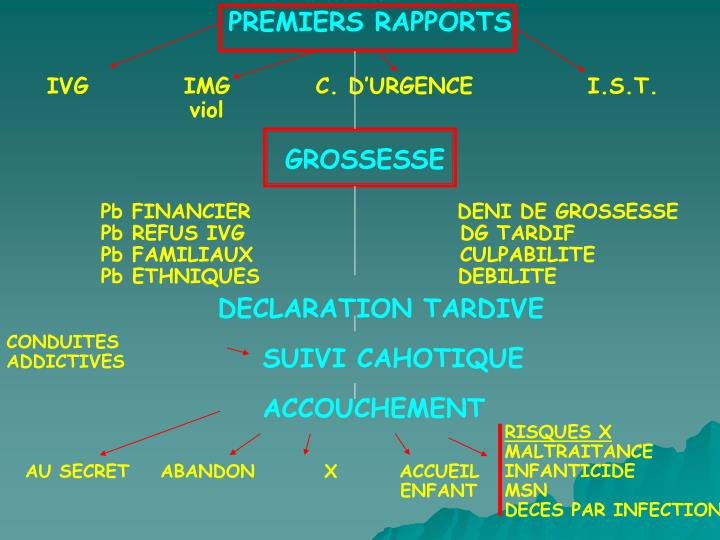 PREMIERS RAPPORTS